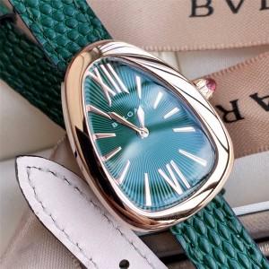 Bvlgari official website ladies new SPP27C4PGL series quartz watch