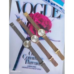COACH ladies PERRY series star dial fashion steel band quartz watch