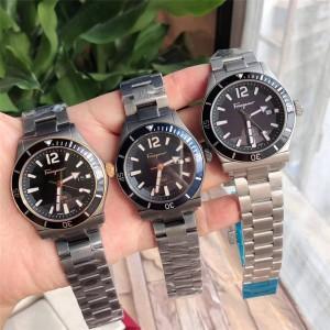 Ferragamo official website 1898 SPORT series diving quartz watch