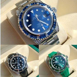 ROLEX Submariner Series PAVEO Automatic Mechanical Watch 116659