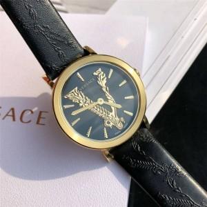 Versace quartz new ladies leather strap VIRTUS watch