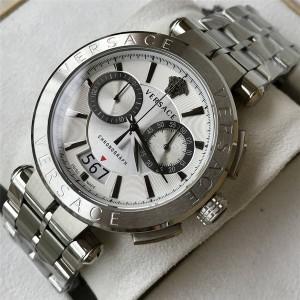 Versace men's VBR series multi-function chronograph quartz watch