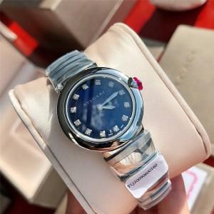 Bvlgari ladies diamond LVCEA series quartz watch 102196