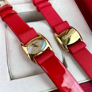 Ferragamo official website ladies quartz diamond VARA watch