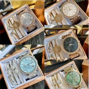MK new ladies three-piece quartz watch