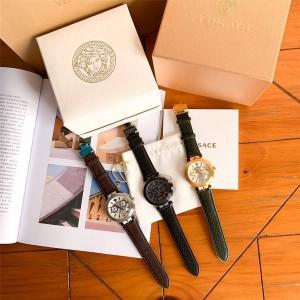 Versace VBR series multi-function six-hand chronograph quartz watch