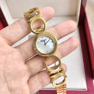 Ferragamo official website ladies new ring quartz watch