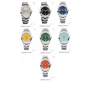 ROLEX men's consumption type perpetual series M124300 mechanical watch