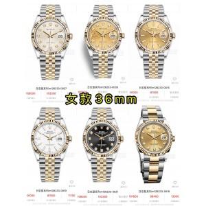 ROLEX Datejust Series Women's Mechanical Watch Watch M126233