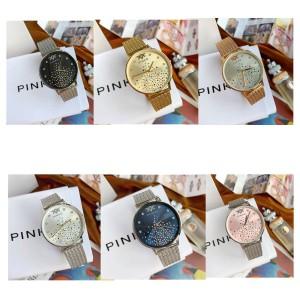 PINKO official website new Swarovski crystal quartz watch 34 mm
