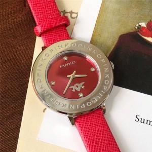 PINKO Women's New Round Dial 34mm Quartz Watch