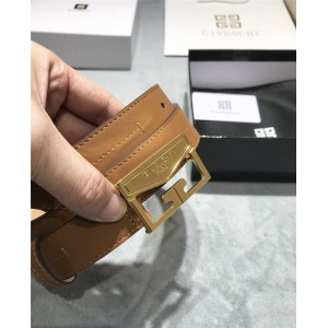 Givenchy official website new ladies leather MYSTIC belt 3.0CM