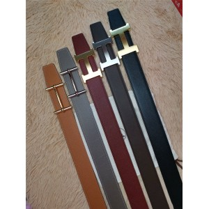 Hermes Epsom leather Constance H d'Ancre belt buckle double-sided leather belt