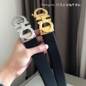 Ferragamo men's automatic buckle fashion 3.8CM belt