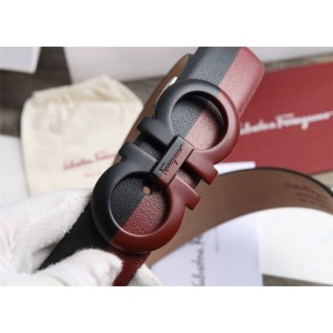 Ferragamo men's adjustable GANCINI 3.5CM belt 67A077