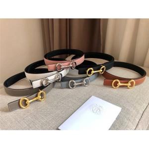 Hermes Women's Heritage Belt Buckle & Reversible Leather Belt 24mm