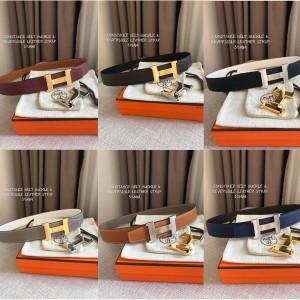 Hermes official website new palm pattern Constance 32mm belt