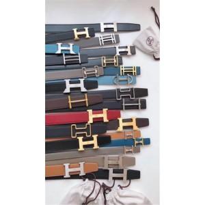 Hermes togo leather men can freely choose the belt buckle 3.8CM belt