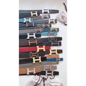 Hermes Epsom leather can freely choose belt buckle 3.8CM men's belt