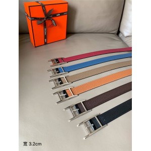 Hermes official website new men's Quentin 32 double-sided belt