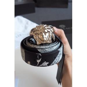 Versace men's BAROCCO ISTANTE reversible belt