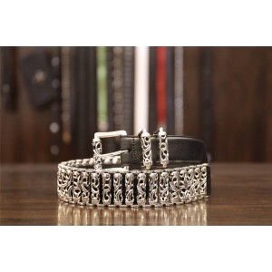 Chrome hearts CH Big Mac sterling silver roller belt