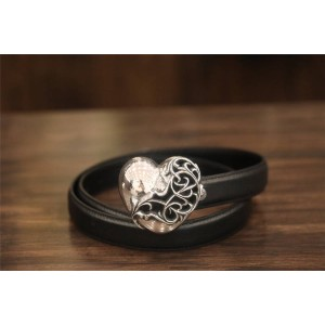 Chrome hearts CH official website heart-shaped love belt buckle