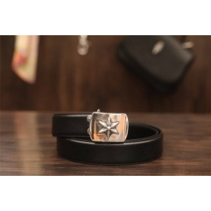 Chrome hearts CH new flat six-pointed star belt