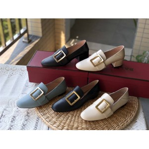BALLY British style JANELLE flat heel flat shoes women's shoes