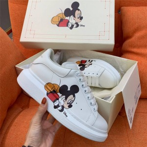 Alexander McQueen Disney Mickey Mouse 3D printed joint kids shoes