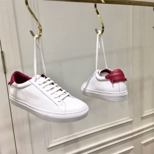 Givenchy couple shoes leather classic white shoes casual shoes