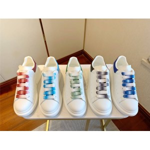 alexander mcqueen couple shoes new KIDS Symphony lace wide sneakers