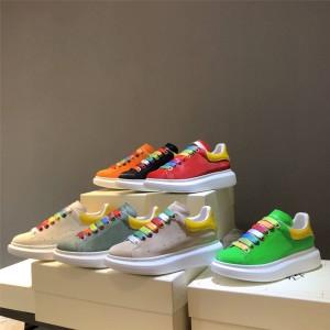 alexander mcqueen official website colorblock heightening shoes sneakers