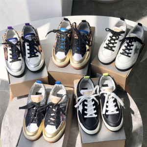 GOLDEN GOOSE GGDB new women's mesh star color matching sneakers