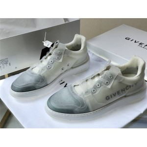 Givenchy new men's WING low-top transparent sneakers