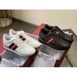 BALLY official website striped men's ASTEL FO sneakers