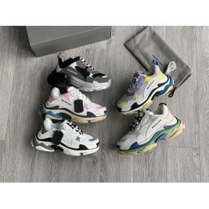 Balenciaga new men's and women's Triple S sneakers running shoes