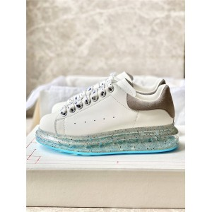 Alexander McQueen Couple Air Cushion Wide Sneakers 625174