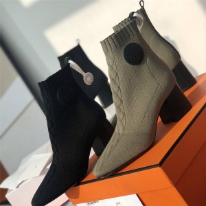 Hermes Women's Volver 60 Ankle Boots Socks Boots Ankle Boots H192034