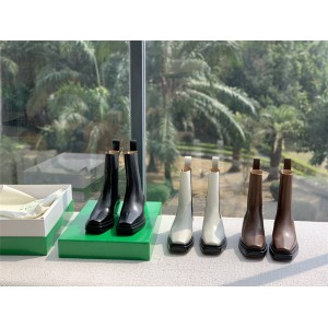 Bottega Veneta BV Women's Boots The LEAN Short Boots 639831