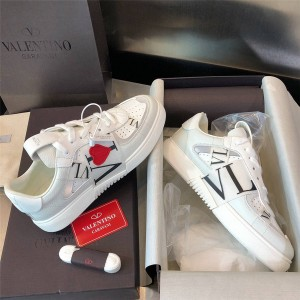 VALENTINO Tanabata Love VL7N calfskin lace-up sneakers