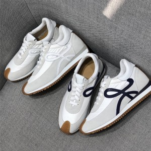 LOEWE new women's shoes LOGO lace up sneakers