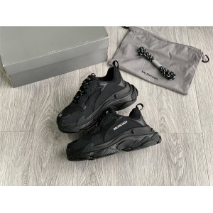 Balenciaga official website 2020 Triple S sneakers black