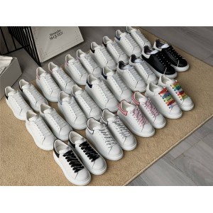 Alexander McQueen Men's and Women's Wide Sneakers