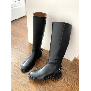 Givenchy new leather Chelsea chain boots motorcycle boots