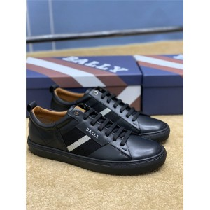 bally men's leather lace up casual HELVIO NEW sneakers
