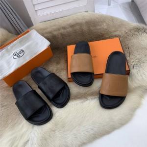 Hermes men's shoes Biarritz sandals slippers H202929
