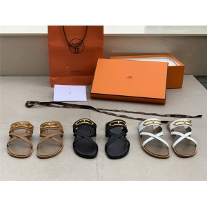 Hermes official website women's shoes Claire sandals slippers H211039