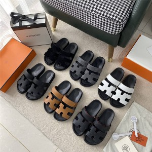Hermes official website ladies Chypre sandals second uncle slippers
