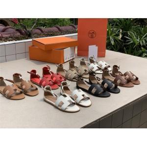 Hermes official website classic new ladies Santorini sandals